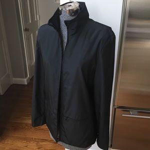 Sleek nylon jacket